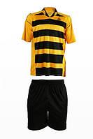 Футболка МУЖСКАЯ игровая LigaSport 3 (Желтый+Черный)