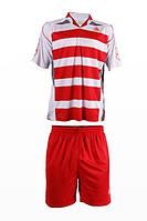 Футбольная форма игровая LigaSport 3 (Красный+Белый)