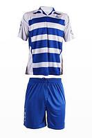 Футбольная форма игровая LigaSport 3 (Синий+Белый)