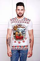 Мужская футболка в стиле вышиванки
