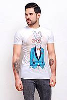 Мужская футболка с интересным принтом