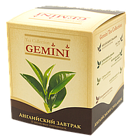 Чай Английский завтрак GEMINI в пирамидках 15 пир по 2,5 гр