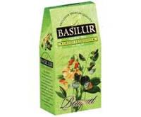 """Чай Basilur """"Букет"""" Зеленая свежесть в картоне 100 г"""