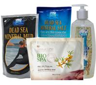 Соли и  грязи Мертвого моря