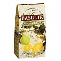 """Чай Basilur """"Магические  фрукты"""" Лимон и лайм в картоне 100 г"""