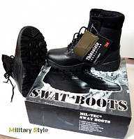 Берцы SWAT, чёрные