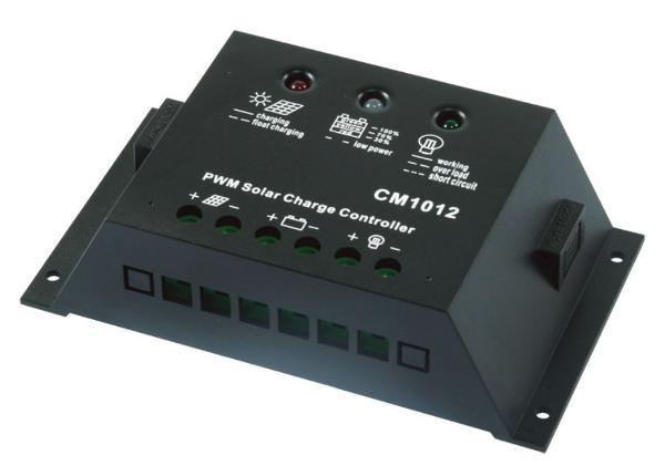 Контроллер заряда солнечной батареи Juta 10А-12В-USB CM1012