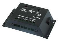 Контроллер заряда аккумулятора Juta (10А, 12В, PWM, USB) CM1012
