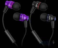 Наушники (гарнитура) Awei ES-800i Violet