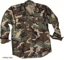Рубашка с длинными рукавами Rip-Stop, woodland