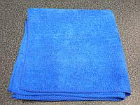 Салфетка из микрофибры универсальная 38х38 (синяя)