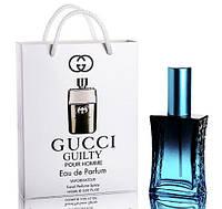 Мини парфюм Gucci Guilty Pour Homme в подарочной упаковке 50 ml