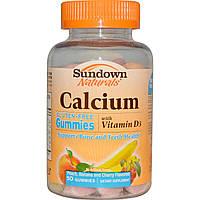Кальций для детей с витамином Д3, Rexall Sundown, 50 конфет