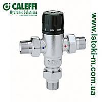 """Регулируемый термостатический смеситель с защитой от ожогов CALEFFI 3/4"""" (521500), фото 1"""