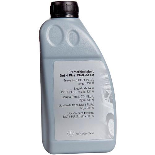 Оригинальная тормозная жидкость Mercedes-Benz 331.0 DOT 4 Plus 1л (A000989080713)