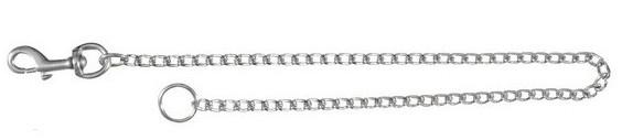 Поводок-цепь для собак Трикси (Trixie), без ручки 80 см 3 мм