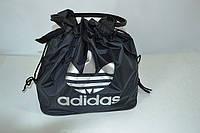 Молодежная женская сумка ADIDAS LS-1028 (P2) черн/серебро, фото 1