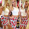 Комбинированный костюм топ+юбка, фото 3