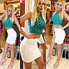 Комбинированный костюм топ+юбка, фото 6