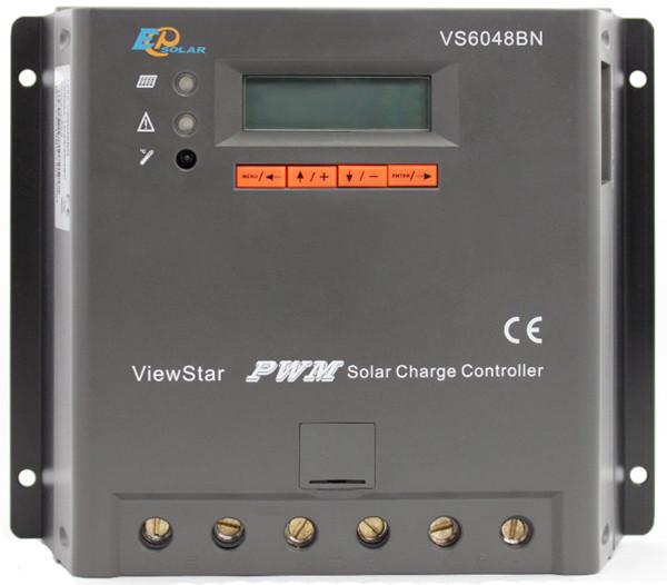 Контроллер заряда солнечной батареи EPSolar 60А-12/24/36/48В VS6048BN