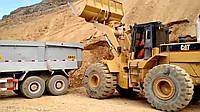 Овражный песок, карьерный песок, доставка овражного песка