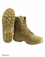 Ботинки тактические на молнии (Khaki), фото 1