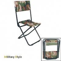 Складной туристический стул (Woodland)