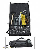Набор для крепления палатки (колышки, молоток и др.)