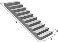 Лестничные марши с полуплощадками ЛМП 52.5-12-12-5