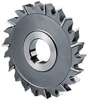 Фреза дисковая 3-хстор. разнонаправ. зуб 63х4,0 мм, Р6М5