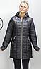 Куртка удлиненная осенняя батальных размеров ( Разные цвета), фото 2