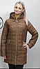 Куртка удлиненная осенняя батальных размеров ( Разные цвета), фото 5