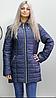 Куртка удлиненная осенняя батальных размеров ( Разные цвета), фото 6