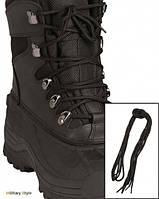 Шнурки черные, 220 см