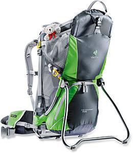 Рюкзак-переноска для детей Deuter Kid Comfort Air graphite/spring (36504 4207)