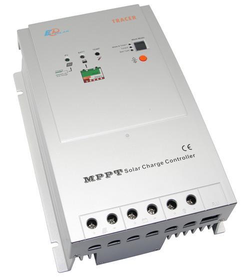 Контроллер заряда солнечной батареи MPPT EPSolar 40А-12/24В Tracer-4210RN