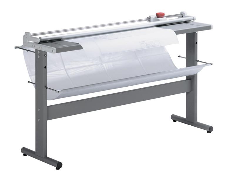 Профессиональный роликовый резак IDEAL 0155, 1550 мм., до 8 листов, автоприжим стопы,прямой рез.