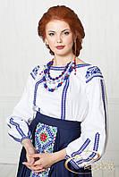 Жіноча блуза з вишивкою, фото 1