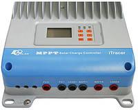 Контроллер заряда солнечной батареи MPPT EPSolar 30А-12/24/36/48В iT3415ND, фото 2