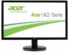 24''TFT, ACER K242HLABID LED (2ms, VGA, DVI, HDMI) Black