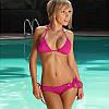 Стильный купальник. Розовый(Код 101)