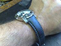 Ремешок из кожи для часов Baume & Mercier, фото 1