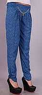 Мирра.Молодежные брюки женские.ДжинсОгурец.(Р).