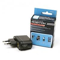 USB зарядка ROBITON USB1000 1000мА
