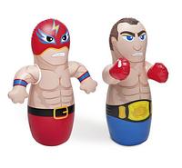 Надувная игрушка-неваляшка Intex 44672 91*72см, боксерская груша надувная для детей от 3лет 2вида