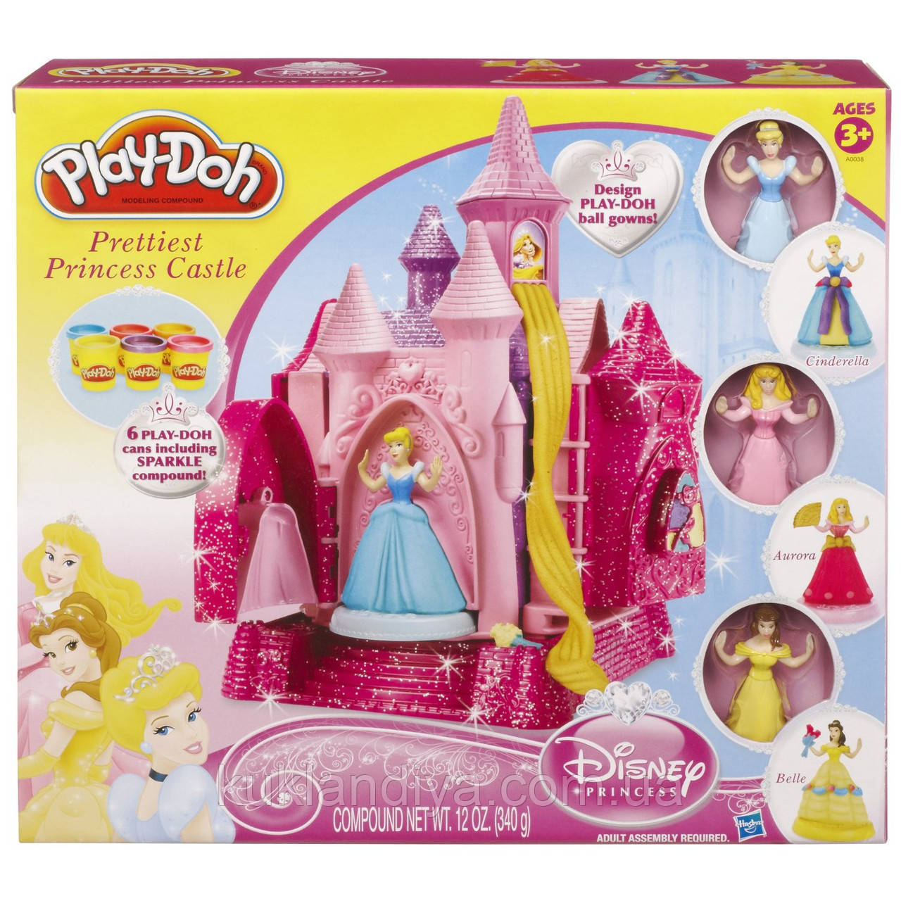Игровой набор Play-Doh Пинцессы Диснея Замок принцесс