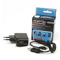Usb адаптер ROBITON USB1000/MICRO 1000мА шнур USB-microUSB