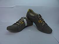 Кожаные кроссовки для мужчин польского производителя