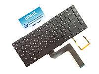 Оригинальная клавиатура для ноутбука Acer Aspire Timeline Ultra M5-481 series (черная с подсветкой, без рамки)