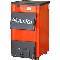 Котел твердотопливный с плитой Amica OPTIMA 14 кВт